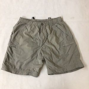The North Face Size Small Gray Nylon Shorts